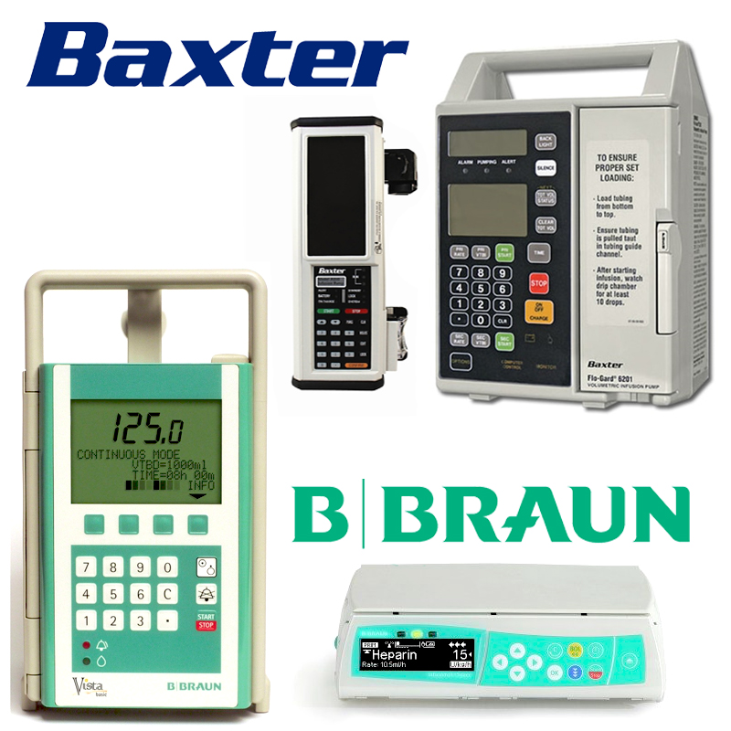 Infusion Pumps New & Refurbished